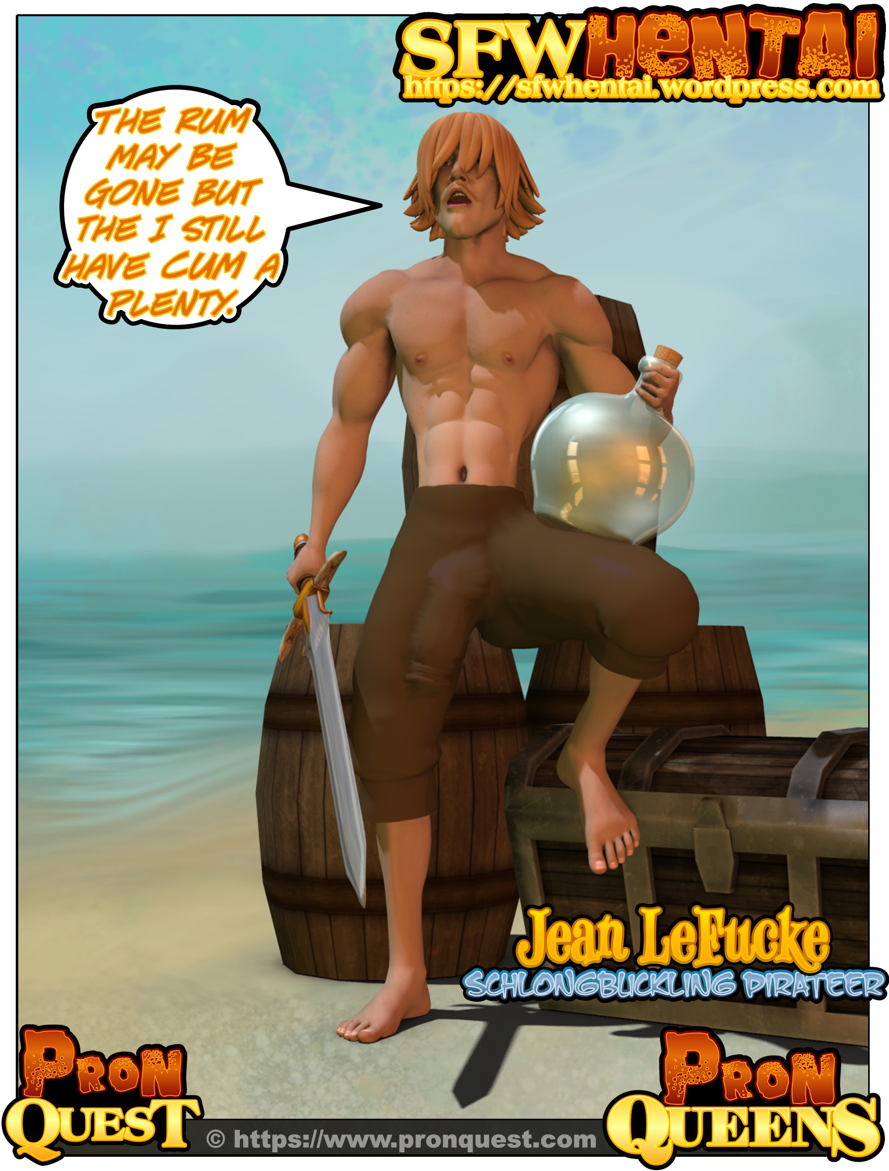 Adult Cartoon Porn Pictures hung bishonen hentai porn pirate stud jean lefucke from